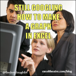 Still Googling how to make a graph in Excel http://exceltheatre.com/blog/