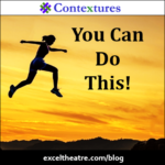 You can do this! http://exceltheatre.com/blog/