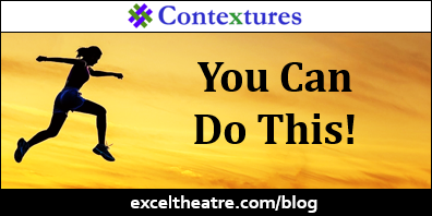You can do this! http://exceltheatre.com/blog/